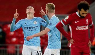 Cùng điểm lại 5 điều đáng chú ý trong trận Liverpool 1-4 Man City