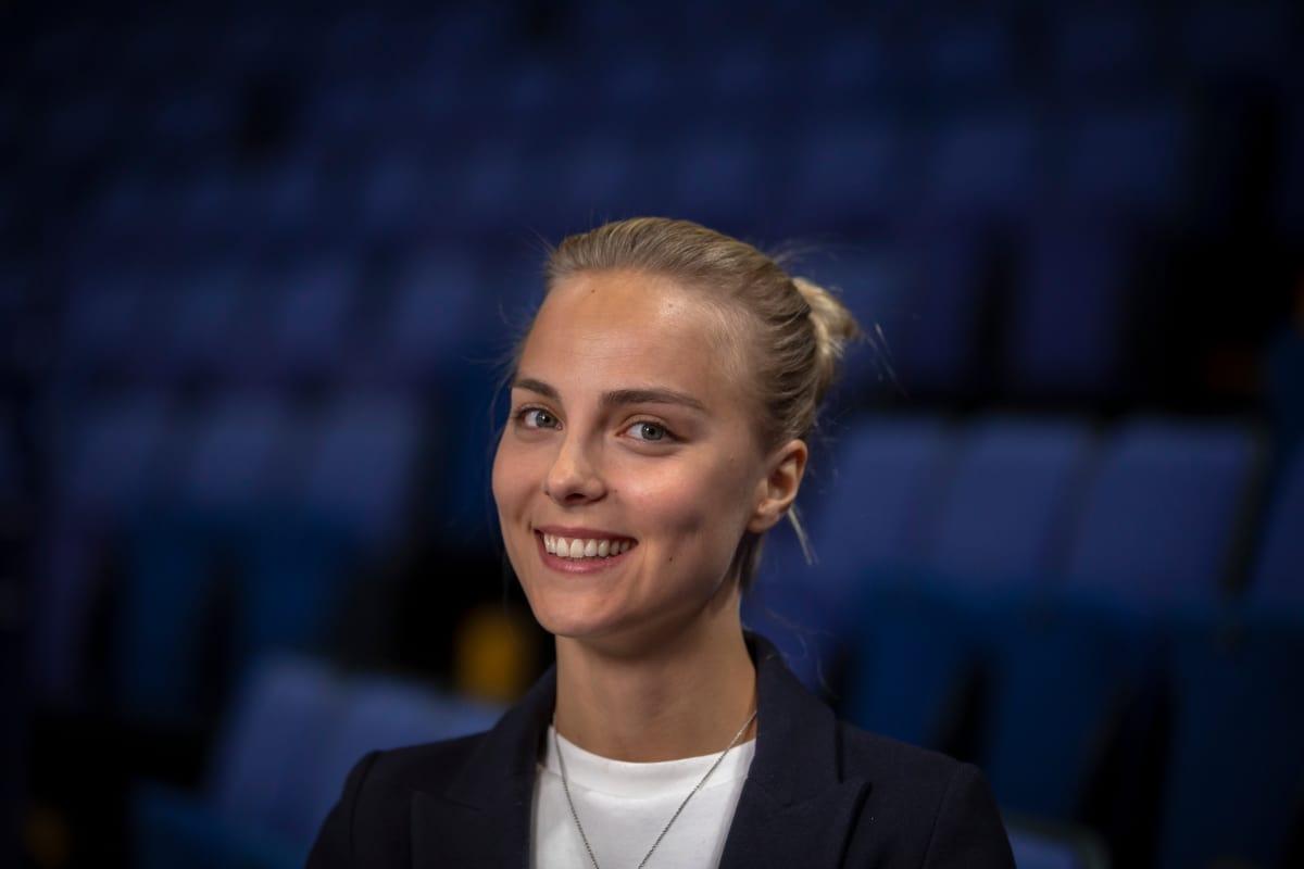 VĐV trượt băng nghệ thuật Kiira Korpi (Phần Lan)