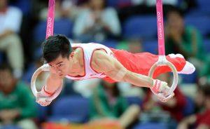 VĐV thể dục dụng cụ Phạm Phước Hưng