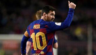 Lionel Messi lập kỷ lục khủng trên con đường sự nghiệp của mình