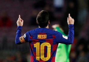 Phản ứng của Lionel Messi về tin đồn chuyển nhượng