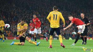 Tình hình lực lượng của 2 đội bóng MU và Arsenal tại Premier League