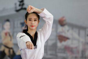 Hoa khôi taekwondo Châu Tuyết Vân